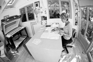 Wendy Newhofer's studio